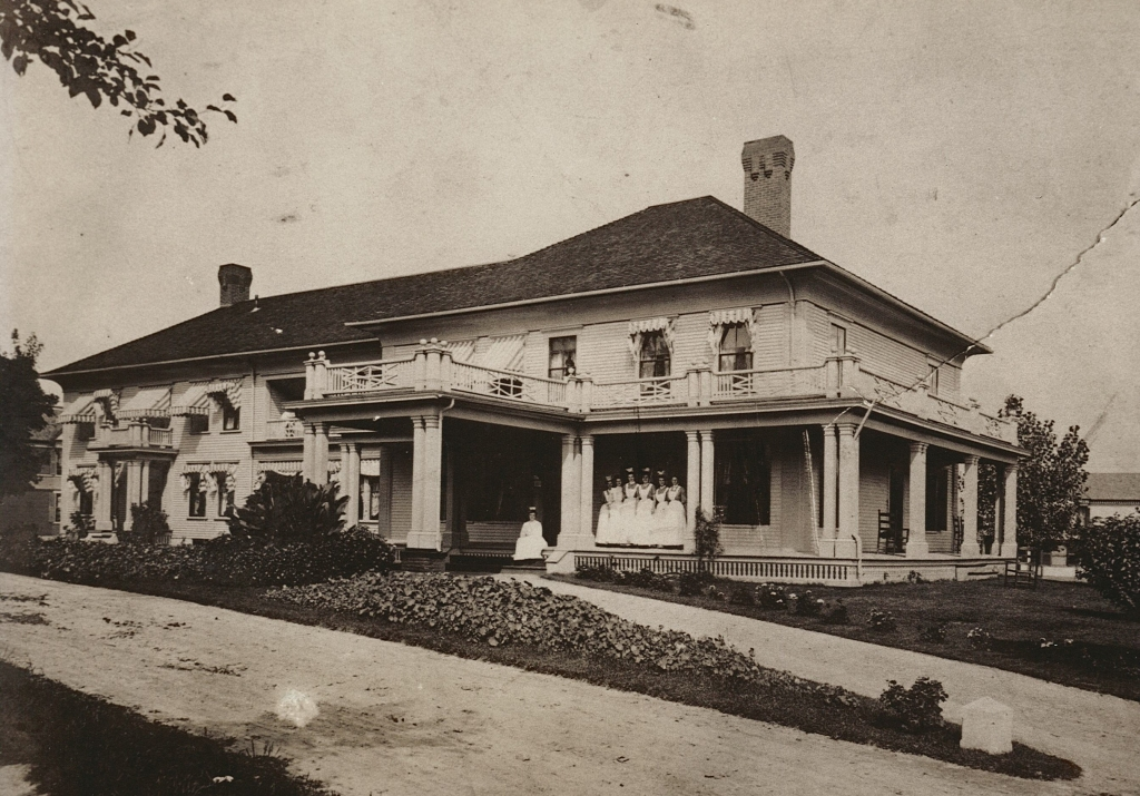 The Morrison Hospital in the early 1900s